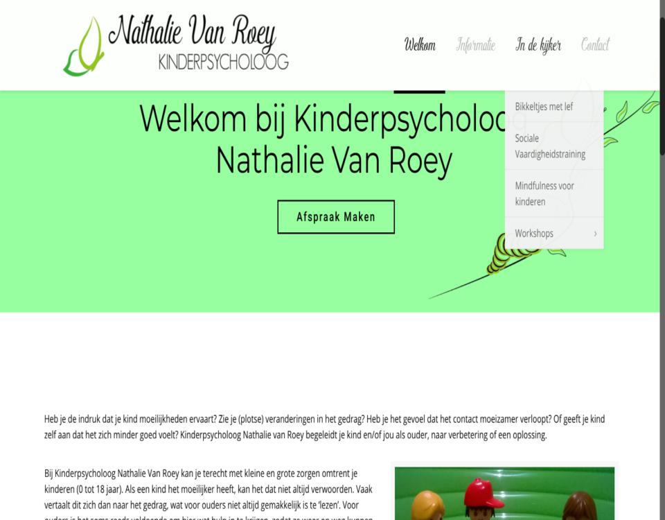 """kinderpsycholoognathalie gemaakt door """" ik wil een website """""""