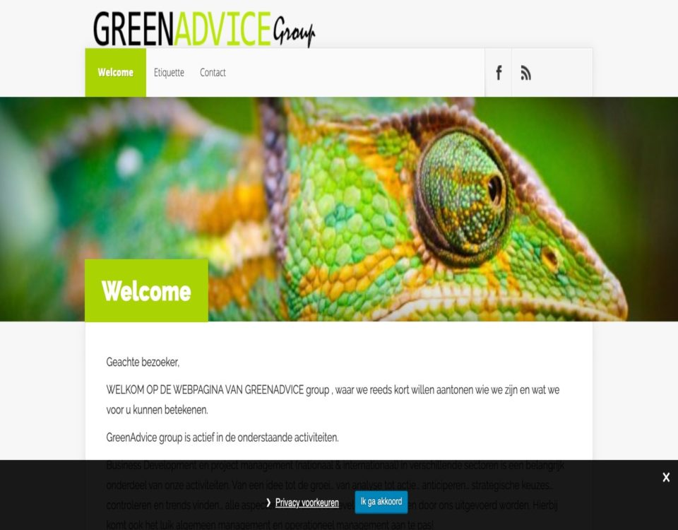 """greenadvice door """" ik wil een site """""""