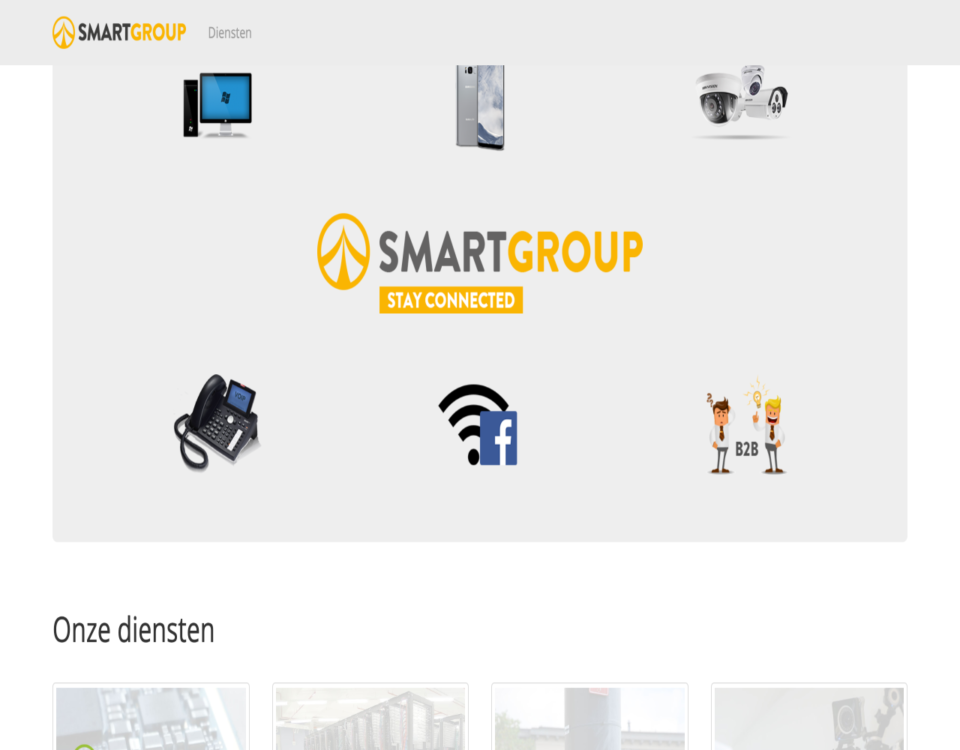 smartgroup.be website