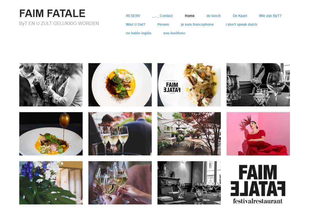 Faim Fatale restaurant Gent