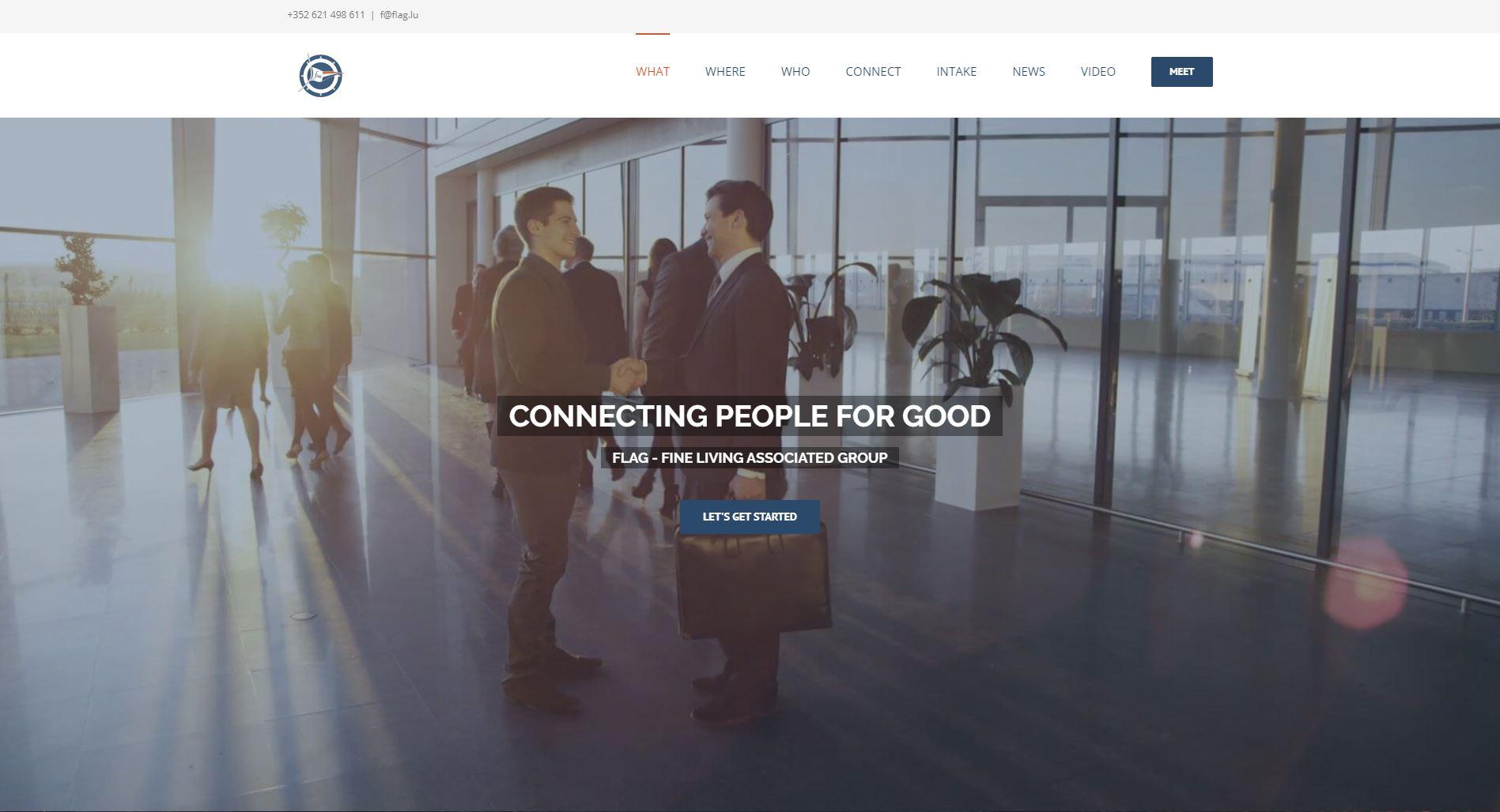 Flag website