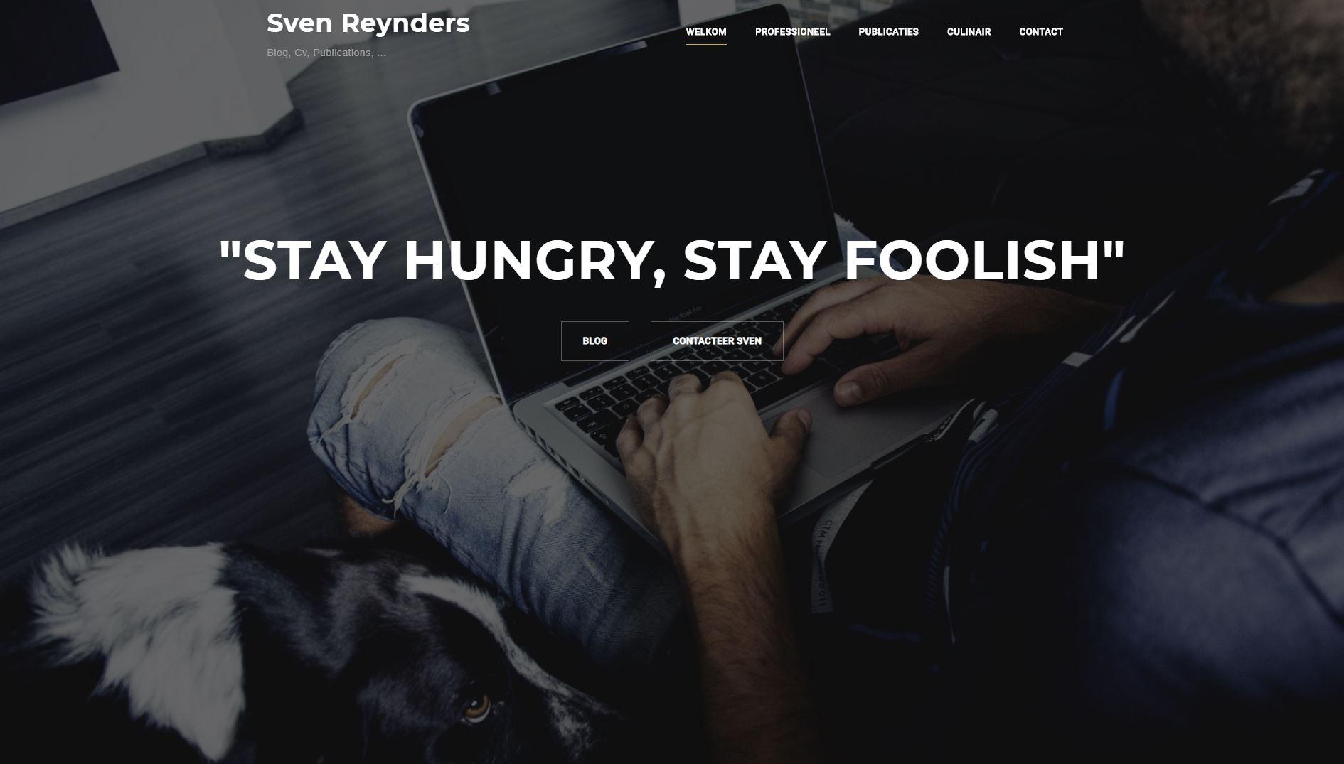 Sven Reynders website
