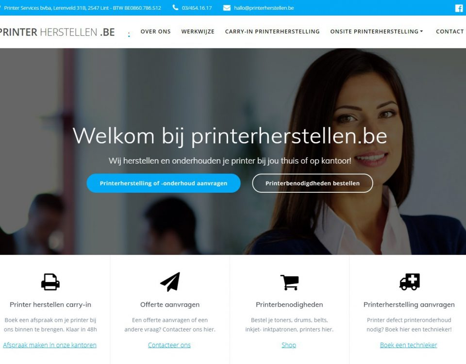 printer herstellen printerservices
